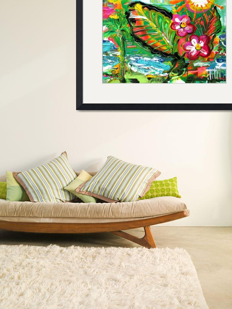 """""""Tropical Abstract&quot  by galina"""