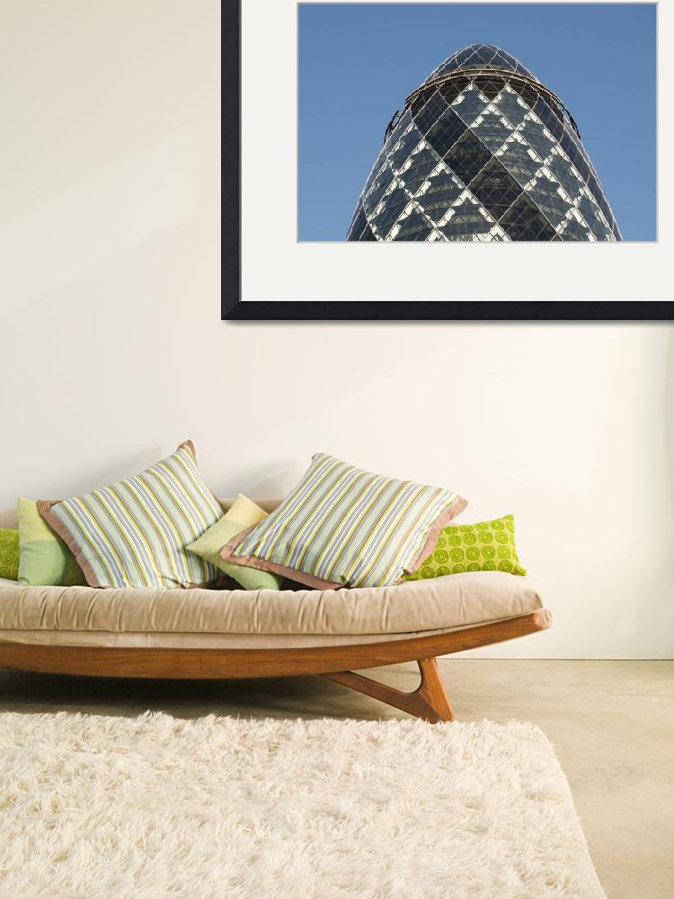 """""""30 St Mary Axe (Swiss Re Building or Gherkin) , Ci&quot  by petrsvarc"""