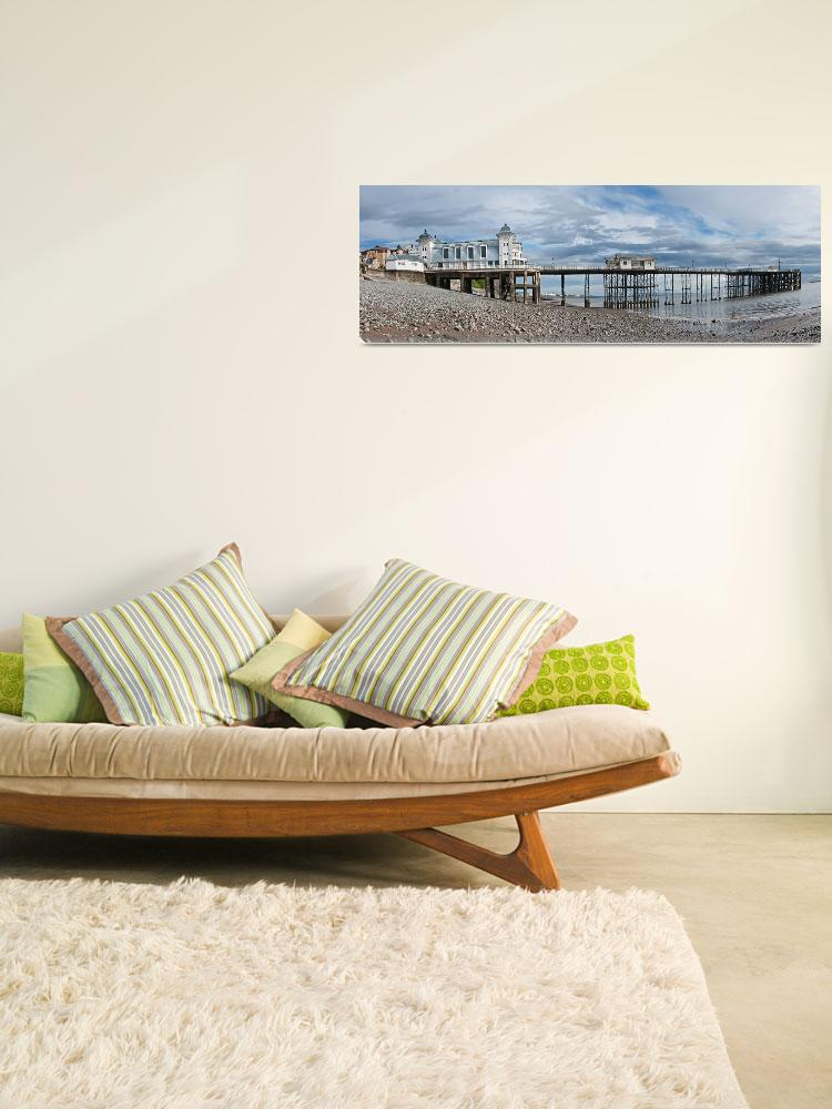 """""""Penarth Pier Panorama 1&quot  by StevePurnell"""
