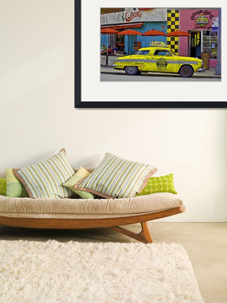 """""""Old Taxi on 7th Avenue&quot  (2011) by joegemignani"""
