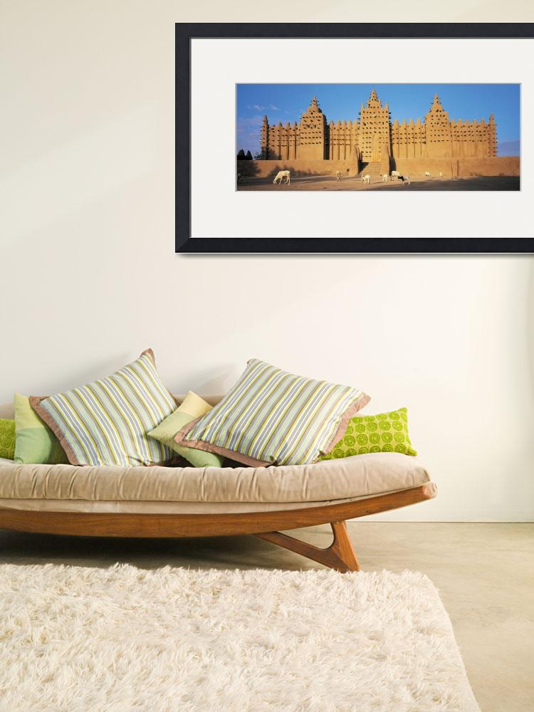 """Konboro Mosque Mali Africa&quot  by Panoramic_Images"
