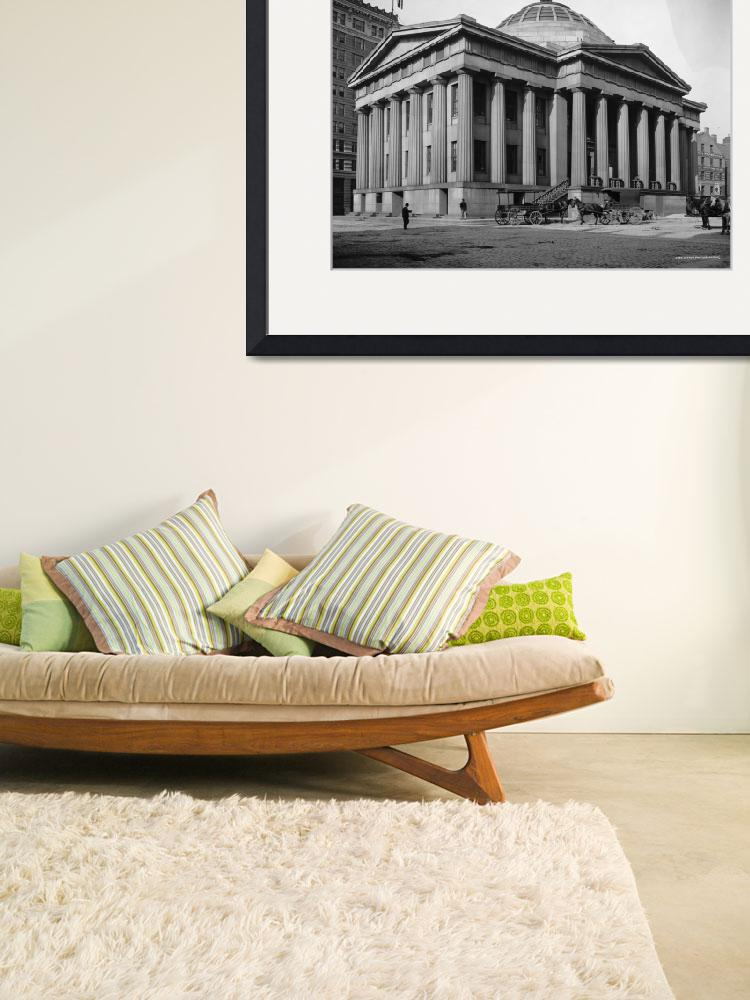 """CUSTOM HOUSE BOSTON&quot  by homegear"