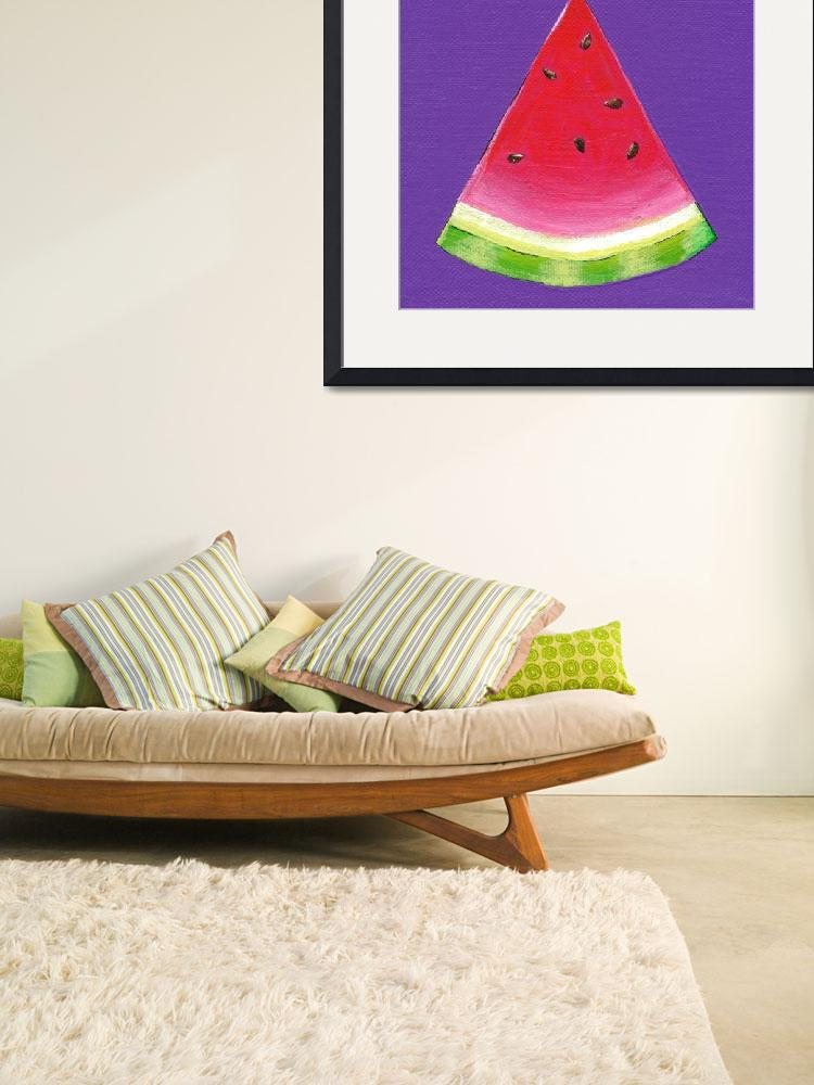 """""""W Is For Watermelon&quot  (2010) by LibbyJohnston"""