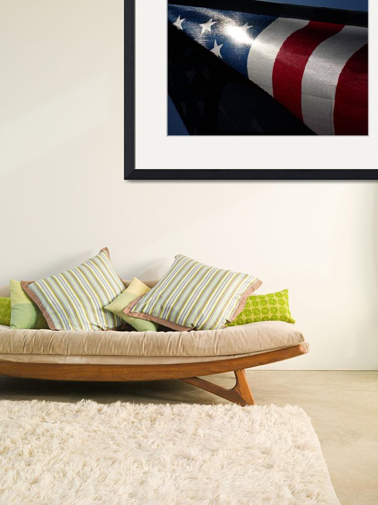 """""""American Flag&quot  by PromotingImagination"""