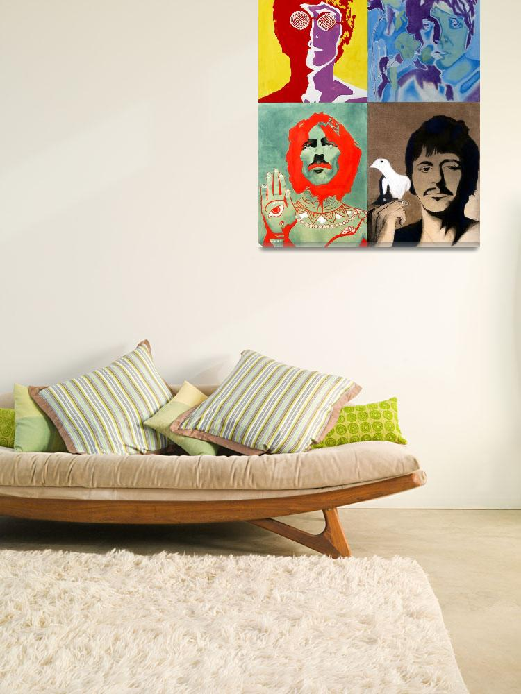 """""""The Beatles - Colour&quot  (2008) by axemangraphics"""