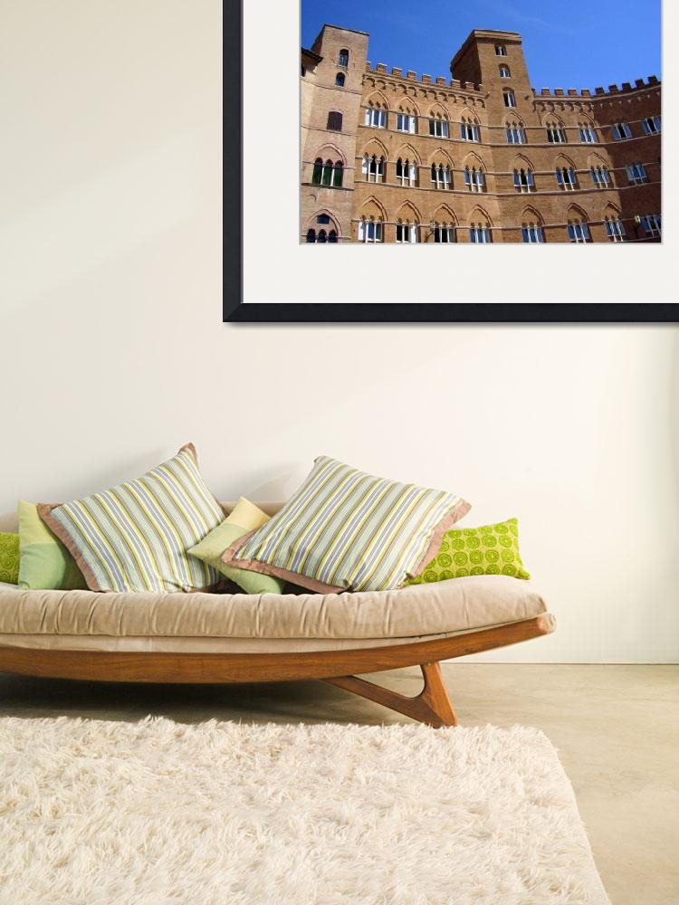 """""""Beautiful architecture in Sienna Italy&quot  (2007) by ExpressDesigns"""