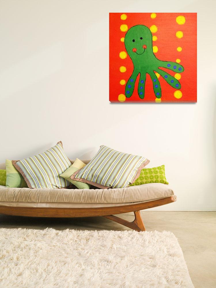 """Octopus""  (2010) by arteest"