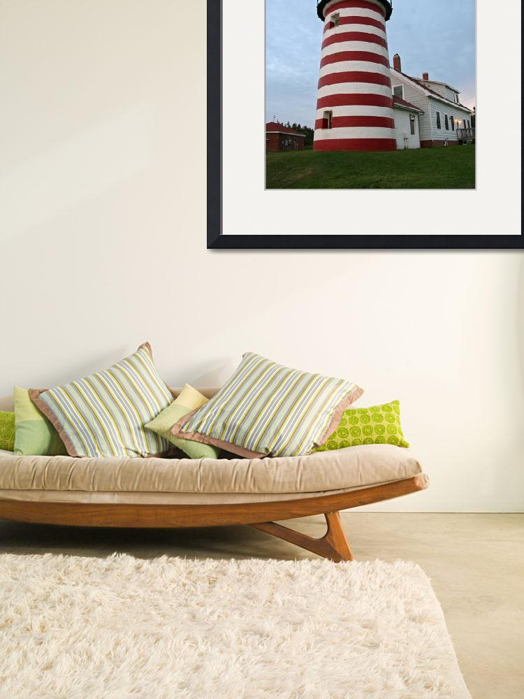 """West Quoddy Lighthouse Maine -2&quot  (2008) by shuttershy"