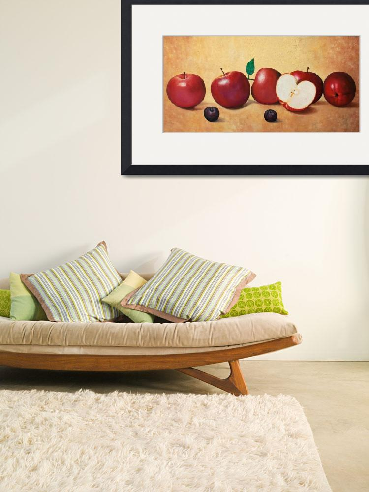 """""""apples and plums&quot  (2013) by KrisLeov"""