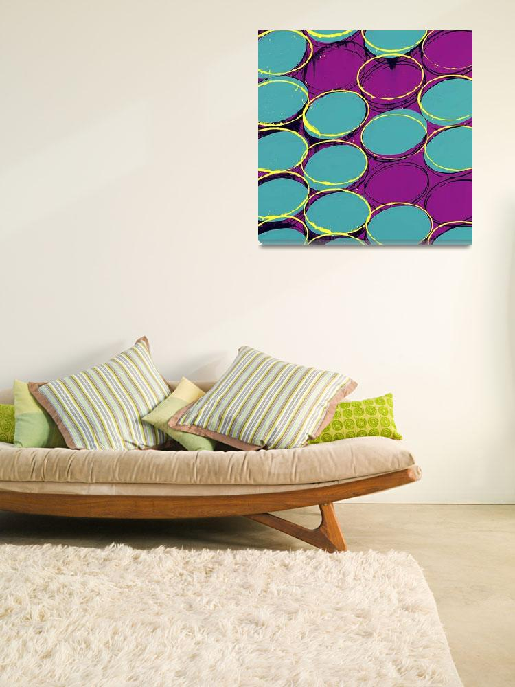 """""""oval repeat neon""""  by earthgirl"""