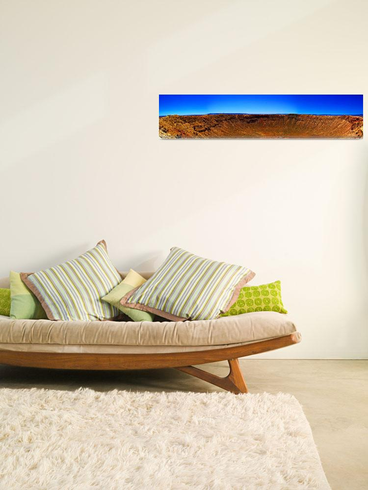 """""""Crater Panorama&quot  (2008) by Bradrey"""