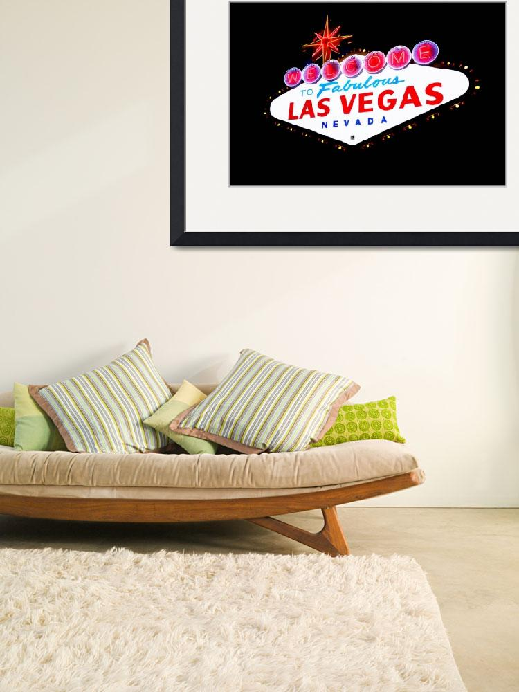"""""""Fabulous Las Vegas Nevada Sign&quot  (2012) by lostprince"""