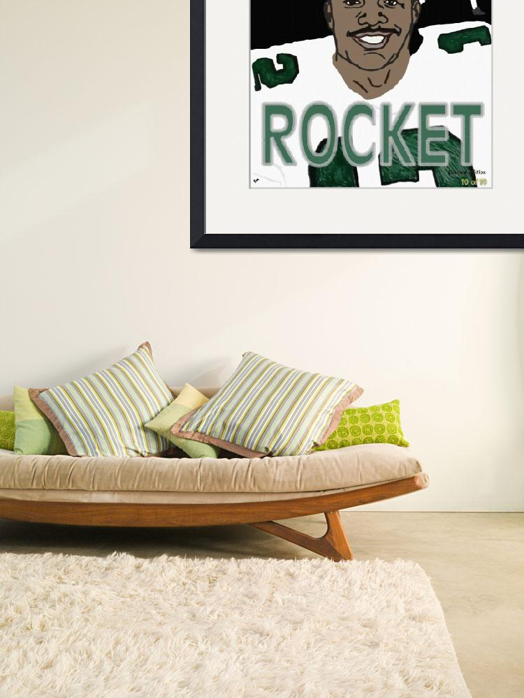 """Randall Cunningham Rocket 10 of 10&quot  by BillyCooperRice"