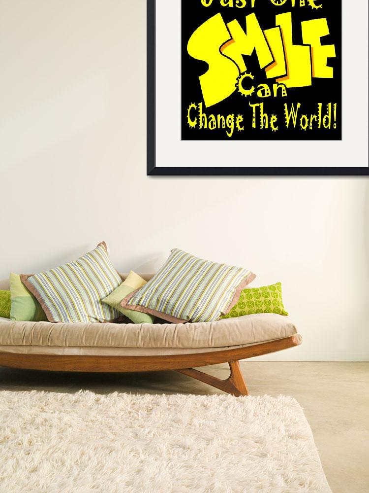 """""""Smile Can Change The World&quot  (2008) by balance50"""