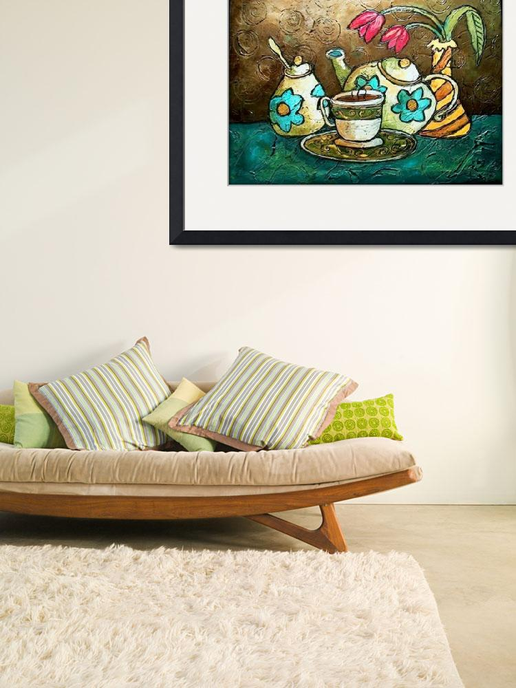"""""""Tea and Tulips""""  (2011) by solamar7"""