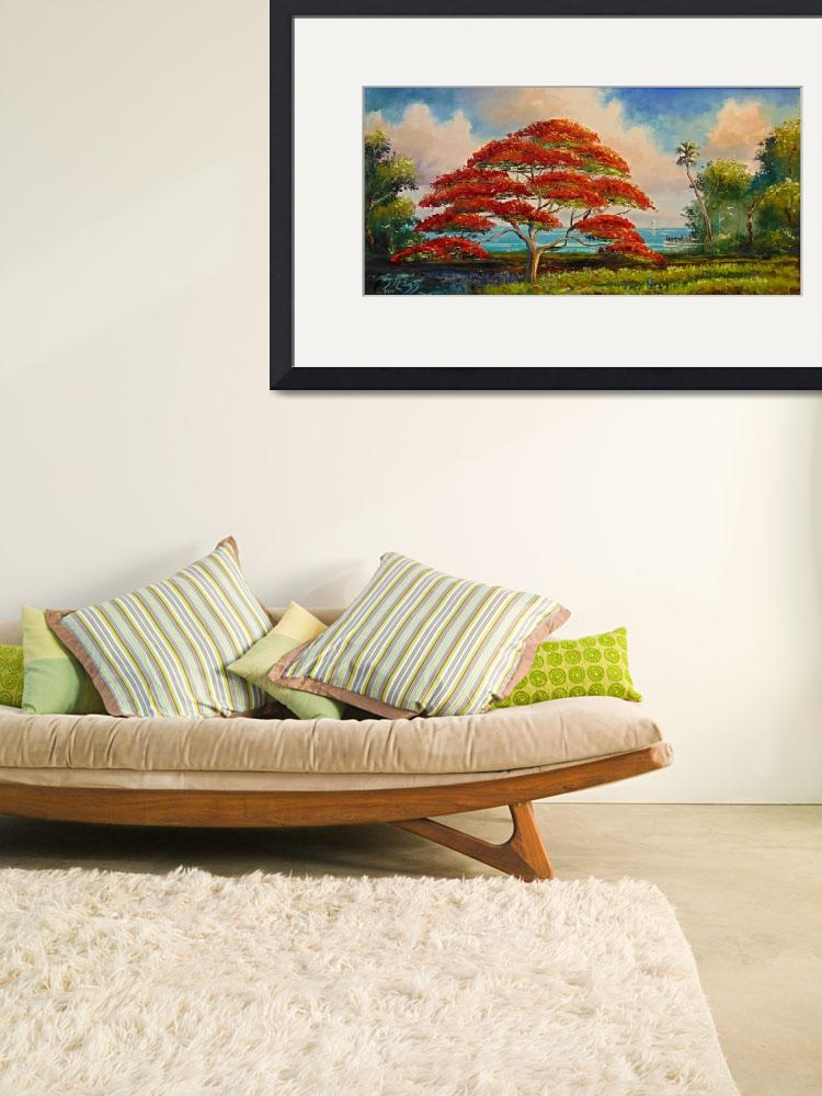 """""""Royal Poinciana Large""""  (2007) by mazz"""