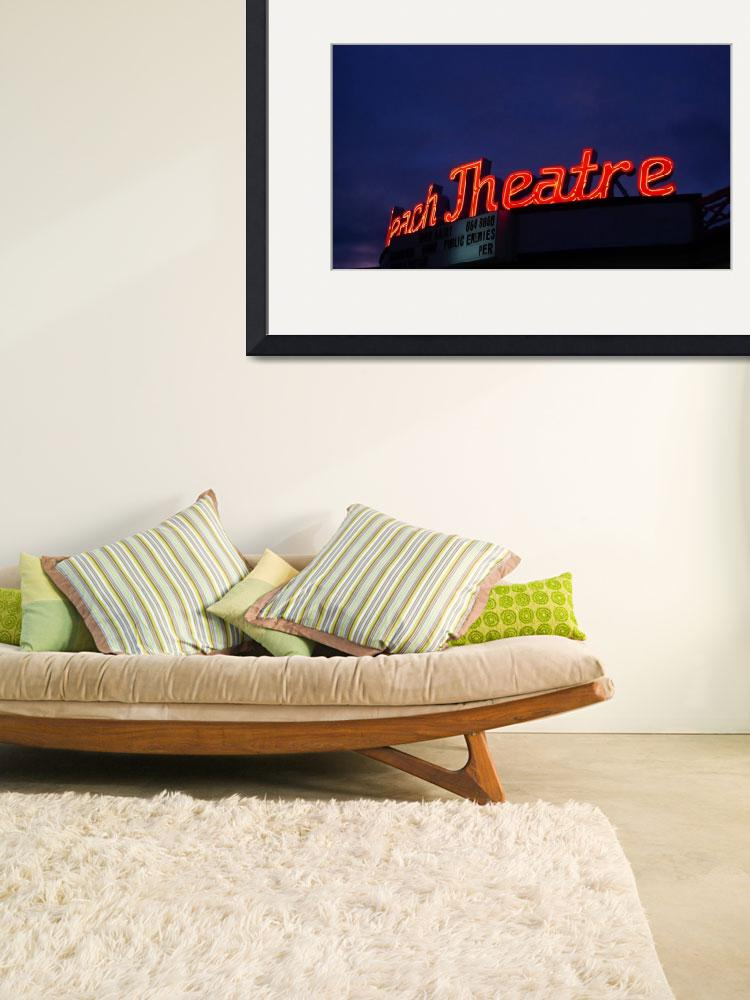 """""""Beach Theatre&quot  (2009) by lensnation"""