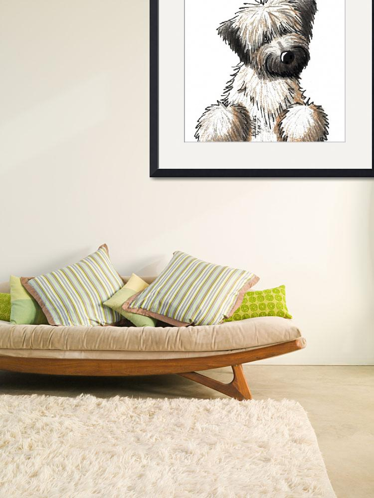 """""""Soft Coated Wheaten Terrier""""  (2007) by KiniArt"""