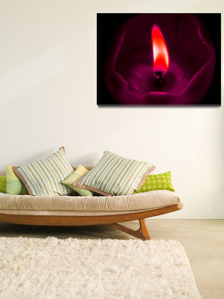 """""""Red Flame""""  (2010) by SLeigh"""