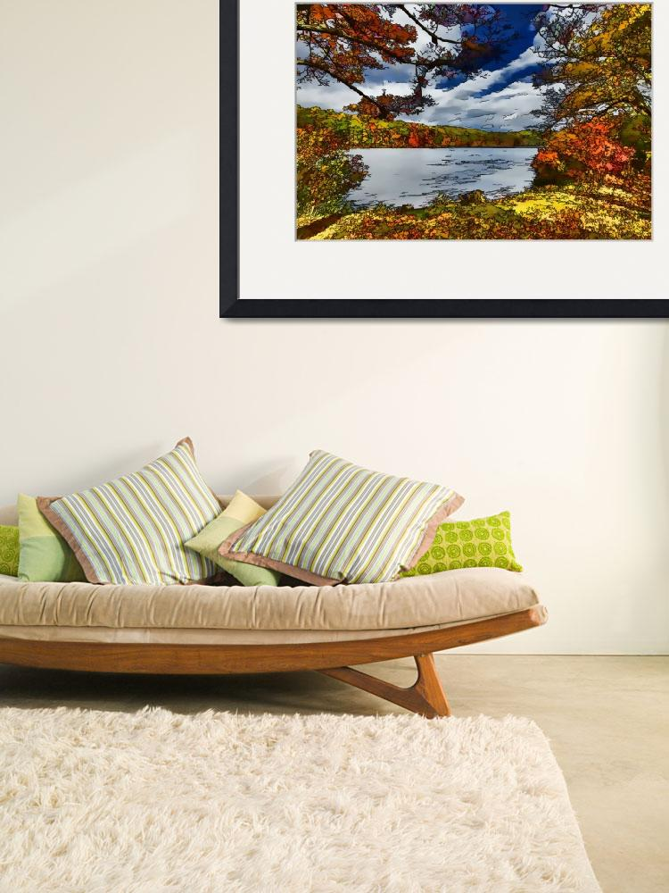 """""""Harriman State Park Fall / Autumn Scene""""  (2012) by New-Yorkled"""