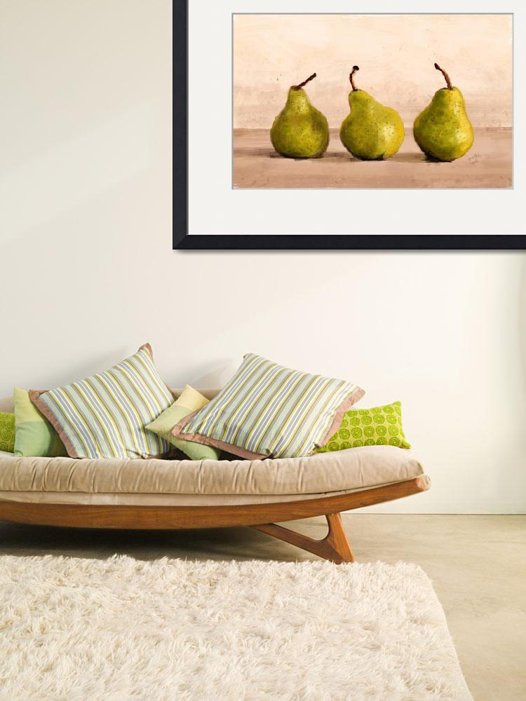 """""""Pears&quot  (2012) by Medhi"""