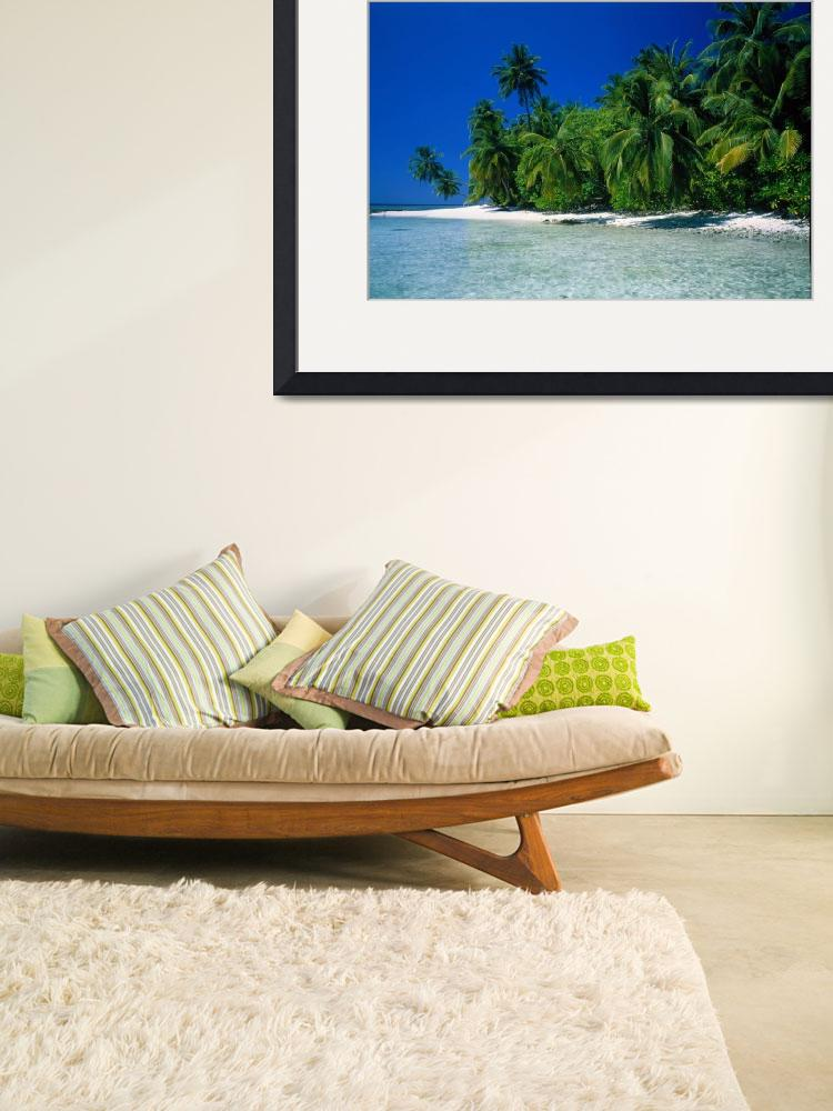 """""""Beach Scene The Maldives""""  by Panoramic_Images"""
