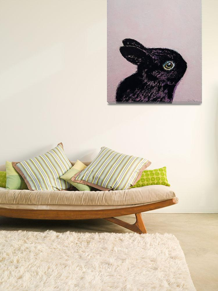 """""""Black Bunny""""  by creese"""