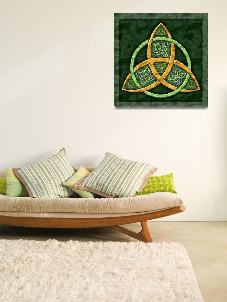 """""""Celtic Trinity Knot&quot  (2007) by foxvox"""