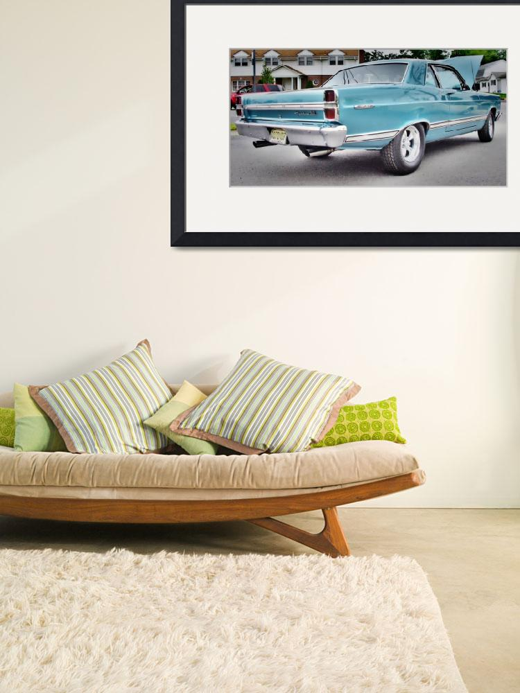 """""""Ford Fairlane 500&quot  (2011) by tom-macpherson"""