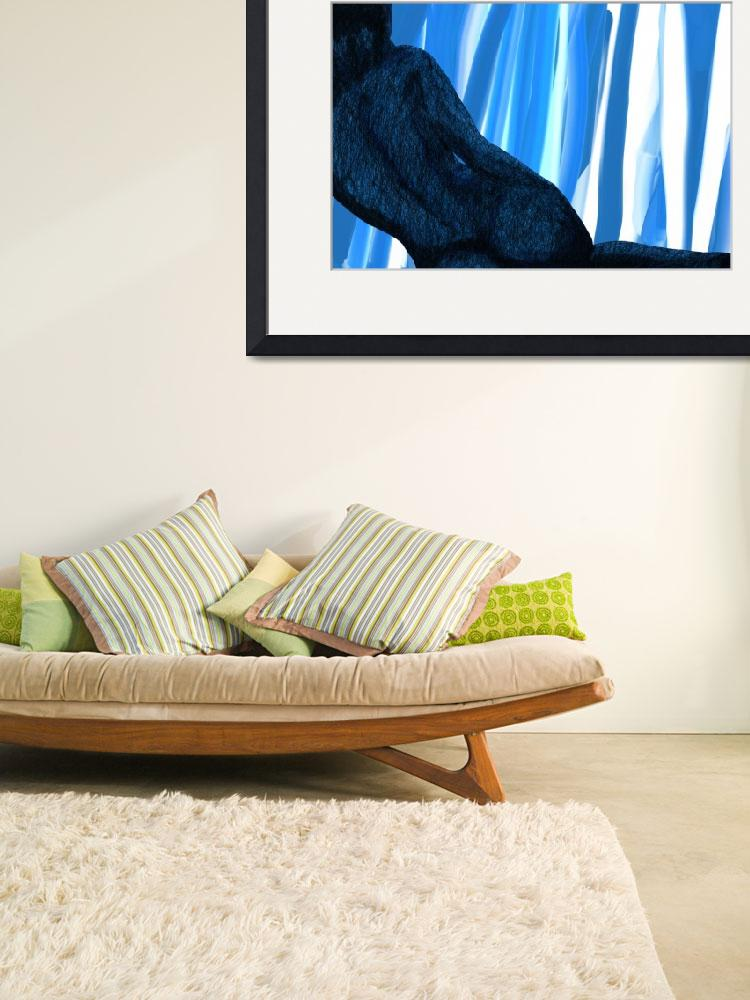 """""""clasic nude 2 Blue With Curtain&quot  by amnonz"""