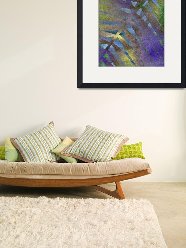 """""""Patterns in purple and lime shades&quot  by CoraNiele"""