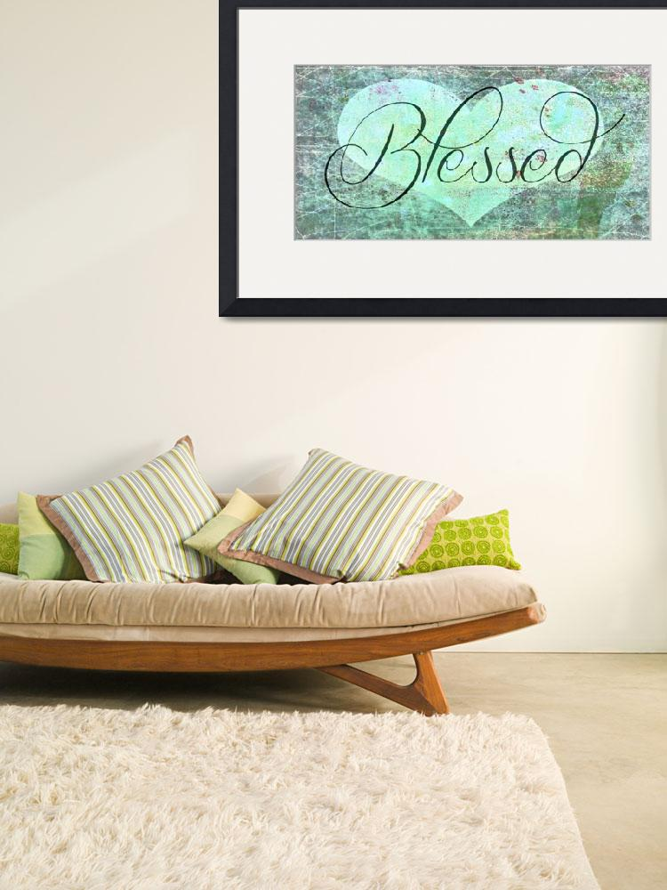 """""""blessed special green heart""""  by lizmix"""