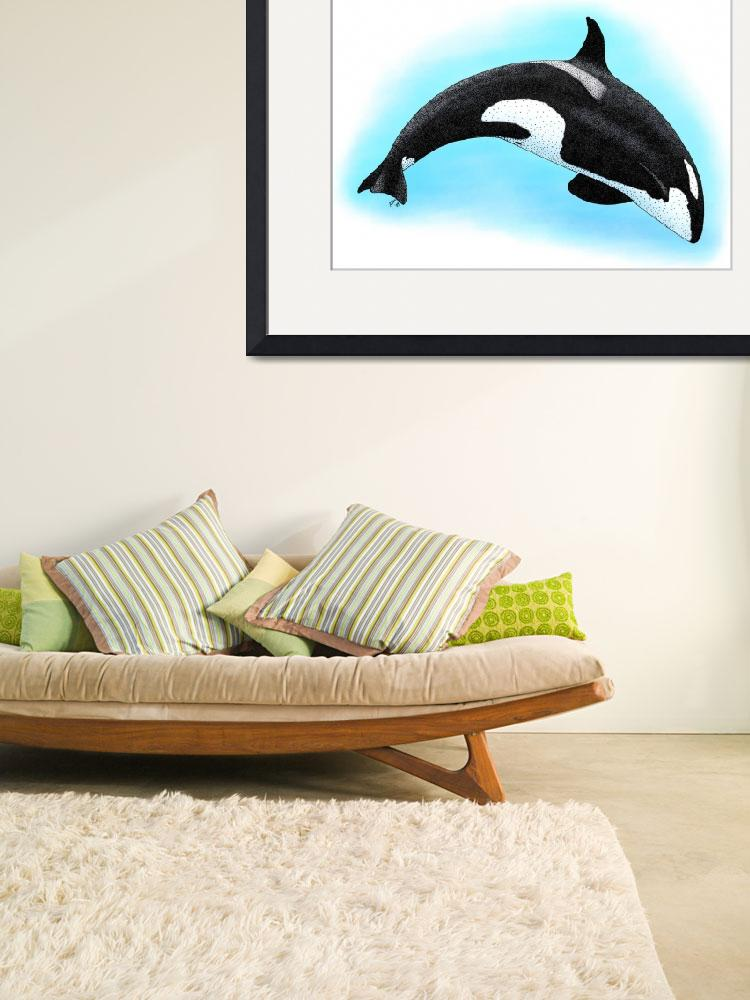 """Killer Whale""  (2009) by inkart"