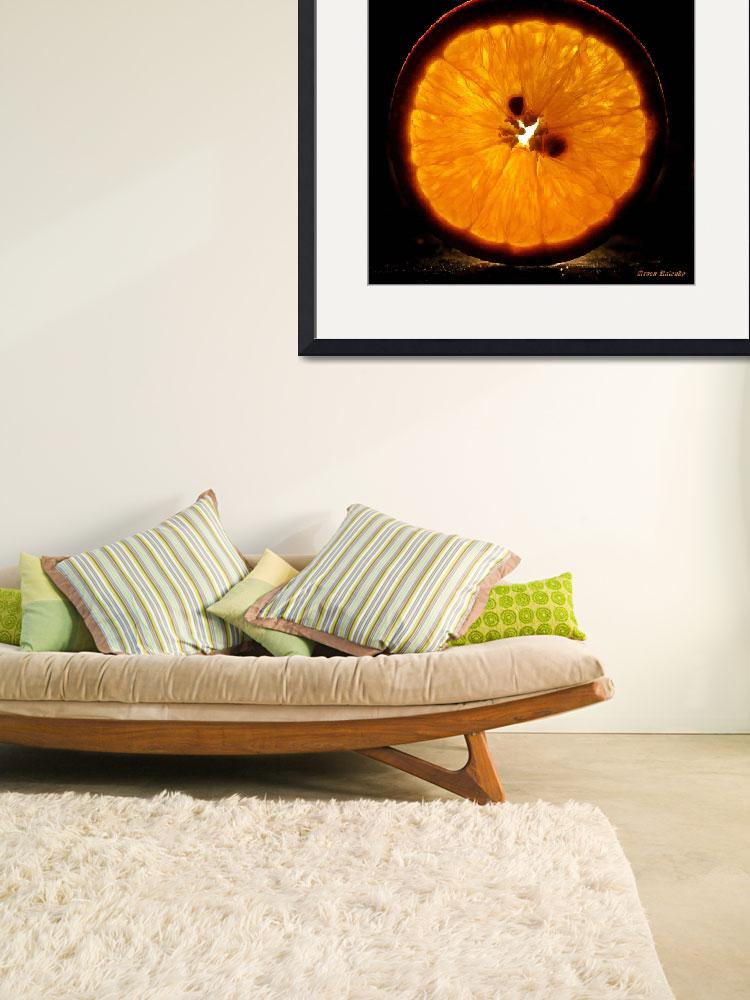 """""""A slice of orange......&quot  (2011) by AroonKalandy"""