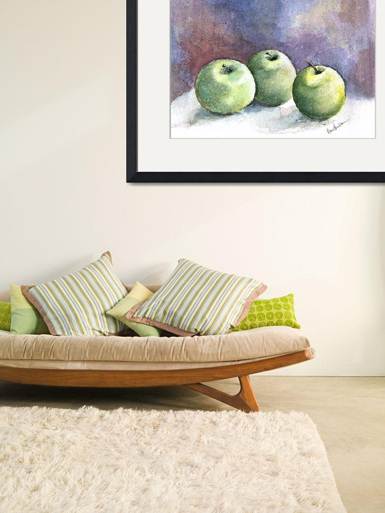 """""""three apples&quot  (2007) by HVStudios"""