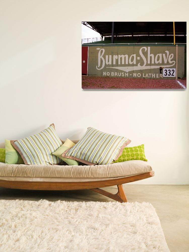 """""""Baseball Field & Burma Shave Sign""""  (2004) by Ffooter"""