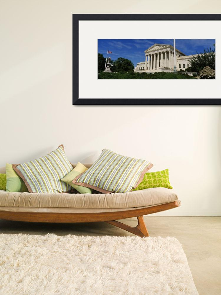 """US Supreme Court Building Washington DC&quot  by Panoramic_Images"