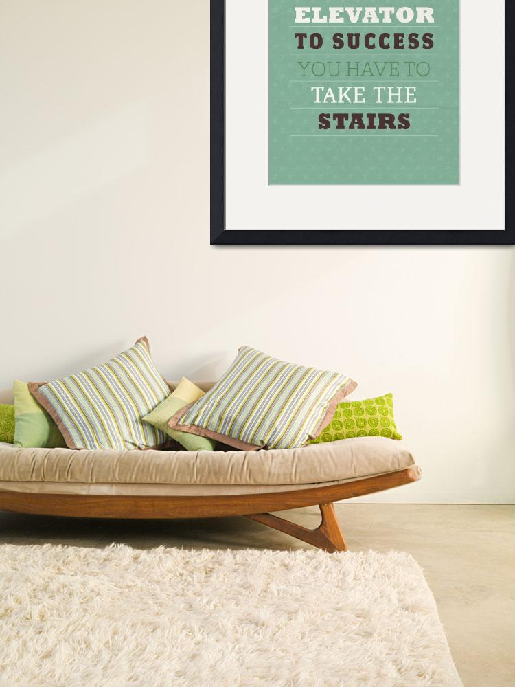 """Take the Stairs""  by artlicensing"