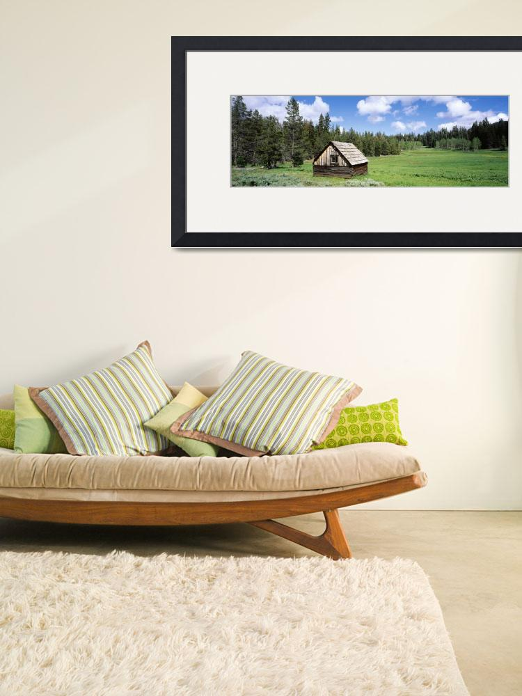 """""""Cabin and Meadow Klamath National Forest CA&quot  by Panoramic_Images"""