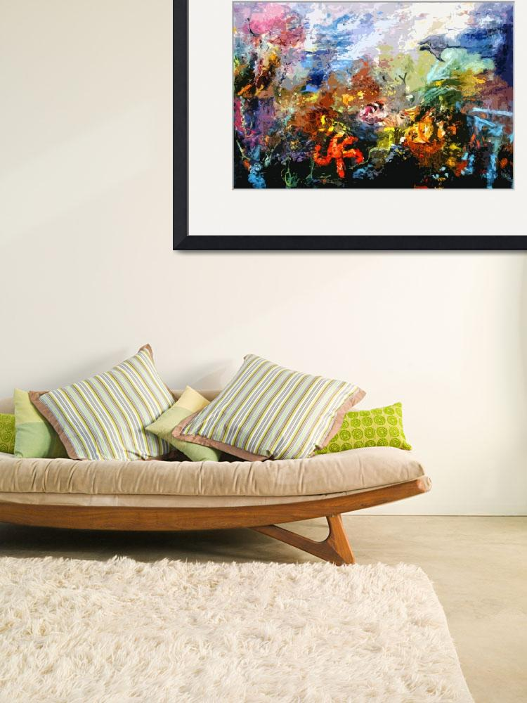 """Life in a Coral Reef Original Art by Ginette""  (2012) by GinetteCallaway"