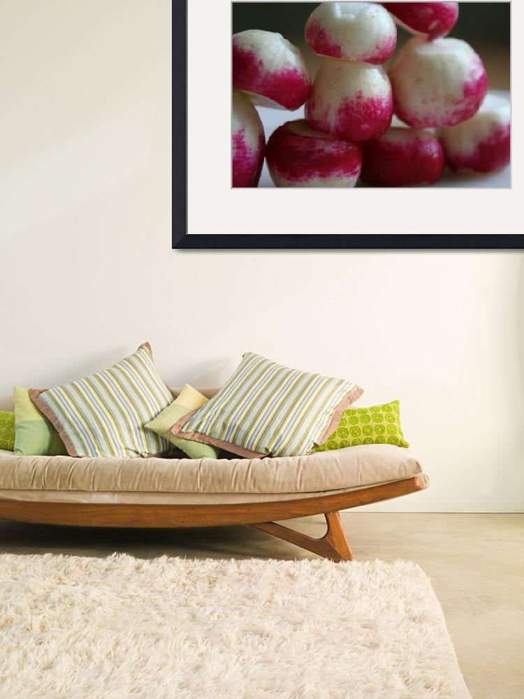"""""""Another radish in the wall""""  (2010) by Leming"""