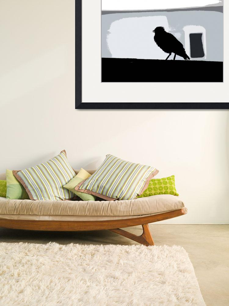 """""""Exotic Bird Perched&quot  (2011) by fabartshop"""