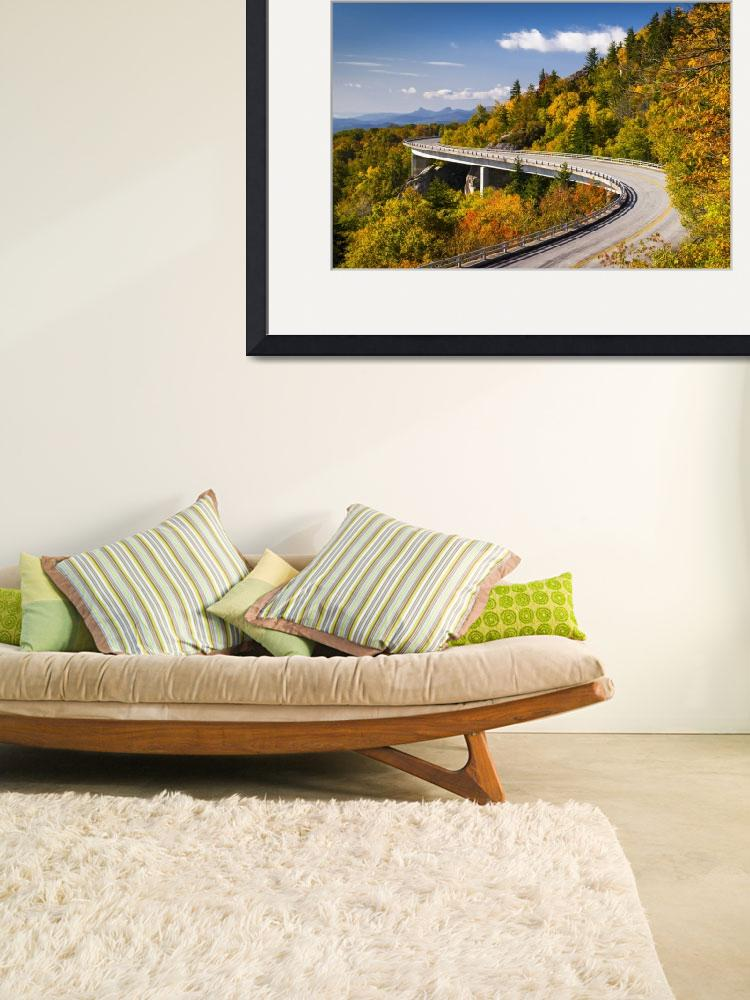 """Blue Ridge Parkway Linn Cove Viaduct - North Carol&quot  (2012) by DAPhoto"
