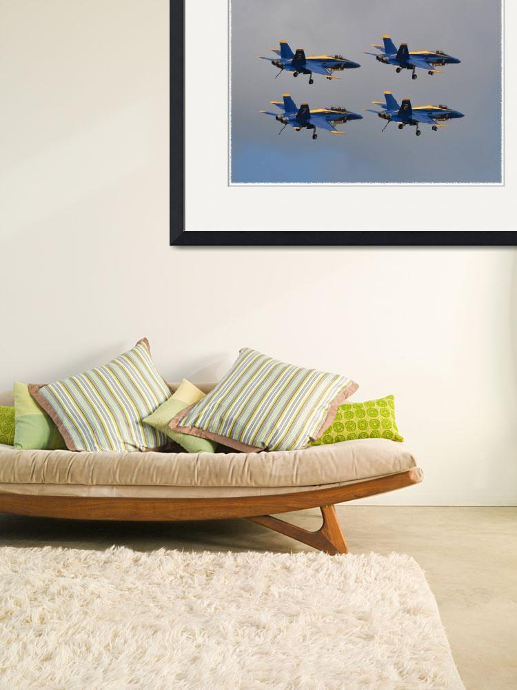 """""""Navy Blue Angels&quot  by BlackwaterDesignNC"""