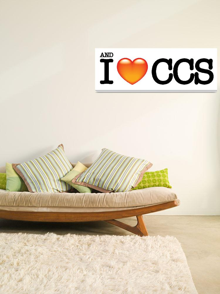 """""""and i love ccs""""  (2007) by LuisRaa"""