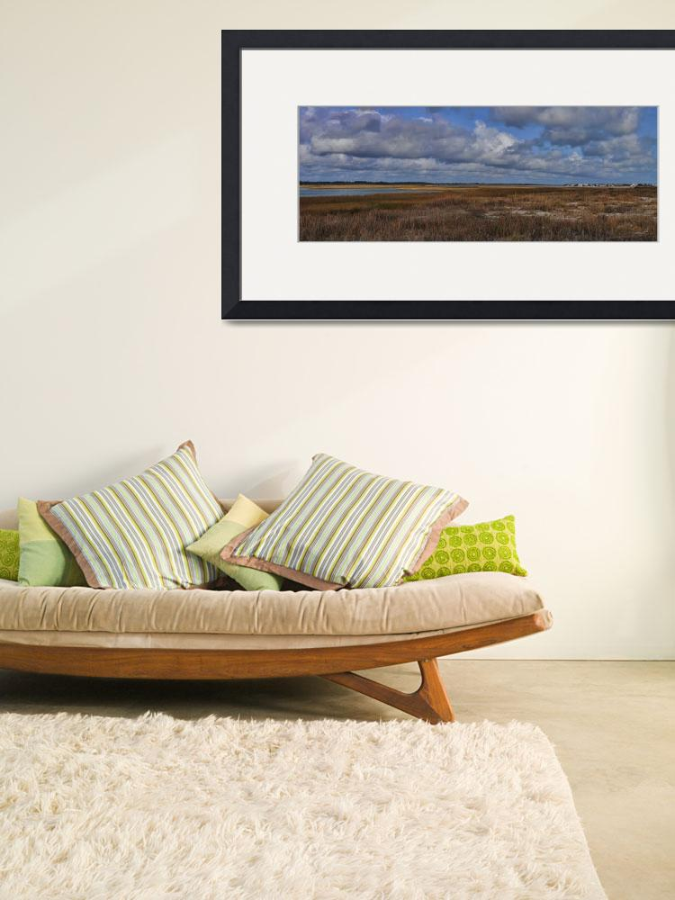 """""""The Marsh from Shell Island to Figure Eight Islan""""  by WrightFineArt"""