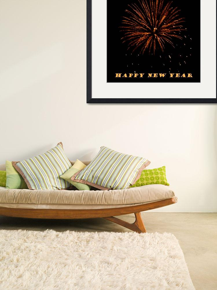 """""""Fireworks New Years Card""""  (2008) by rayjacque"""
