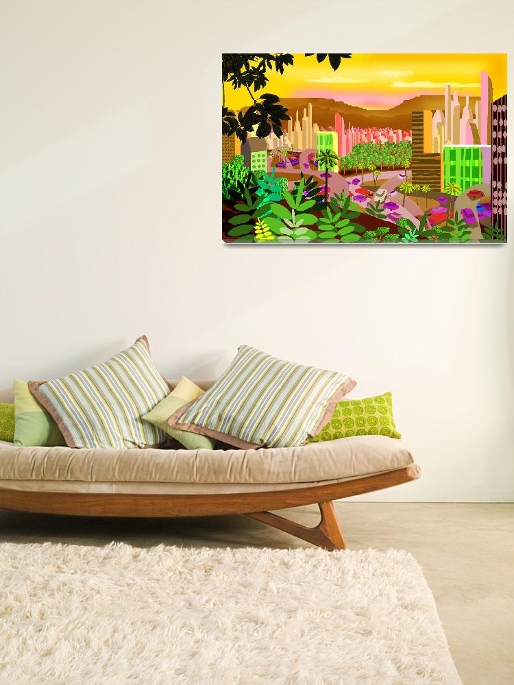 """""""Tropical Fantasy Los Angeles""""  (2008) by charker"""