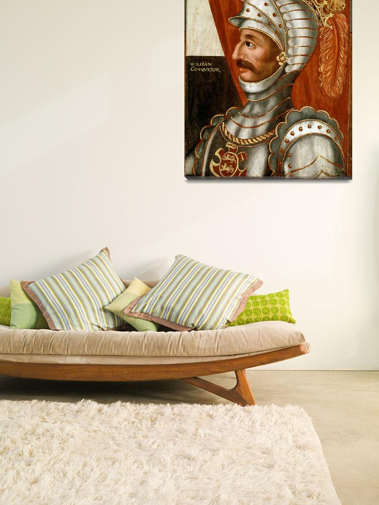 """Vintage William The Conqueror Painting&quot  by Alleycatshirts"