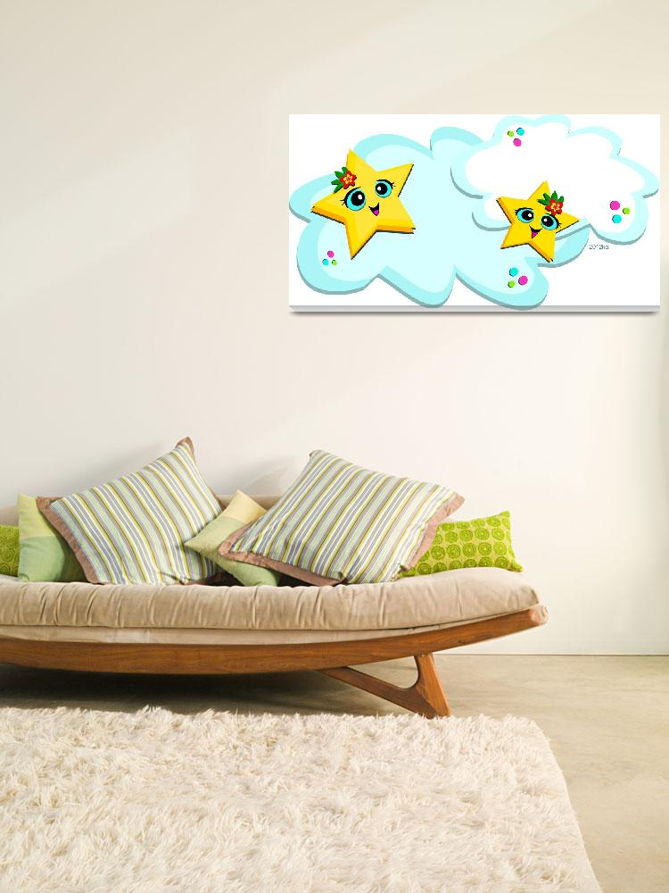 """""""Sweet Clouds and Stars""""  (2012) by theblueplanet"""